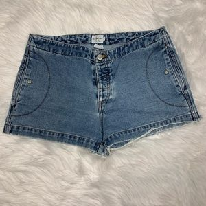 Calvin Klein Jean Shorts Button Fly Sz 9
